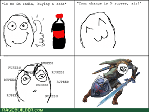 A Whole Blue Rupee!?