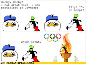 Gooby goez Olympics