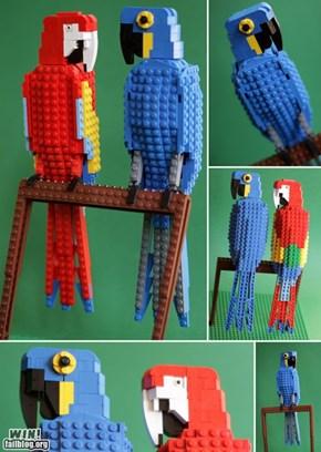 LEGO Parrots WIN