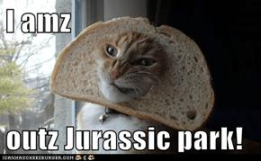 I amz   outz Jurassic park!