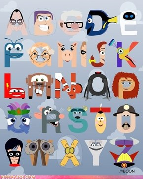 P is for Pixar - The Pixar Alphabet