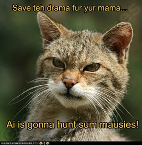 Save teh drama fur yur mama...
