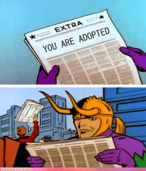 The Asgardian Paparazzi can be so Cruel