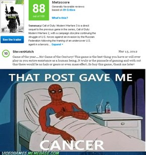 Oh Metacritic......