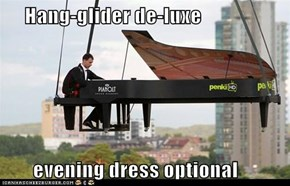 Hang-glider de-luxe         evening dress optional