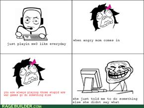 mw3 troll