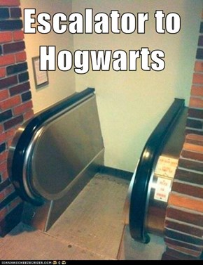 Escalator to Hogwarts