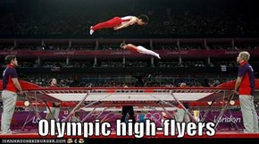Olympic high-flyers