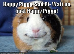 Happy Piggy, Sad Pi- Wait no, just Happy Piggy!