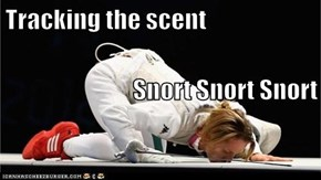 Tracking the scent Snort Snort Snort
