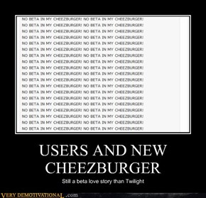 USERS AND NEW CHEEZBURGER