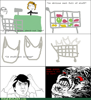 GROCERIES, Y U NO FIT?