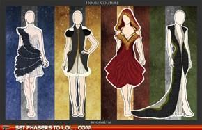 Hogwarts House Dresses