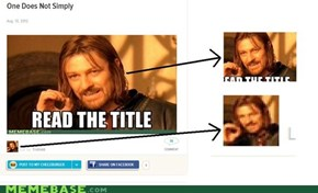 One Does Not Simply Choose an Original Profile Picture