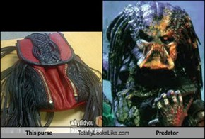 This purse Totally Looks Like Predator