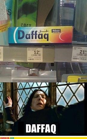 Daffaq?