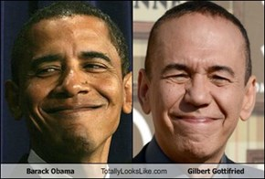 Barack Obama Totally Looks Like Gilbert Gottifried