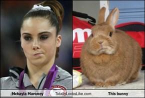 Mckayla Maroney Totally Looks Like This bunny