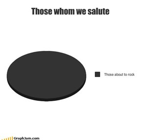 Those whom we salute