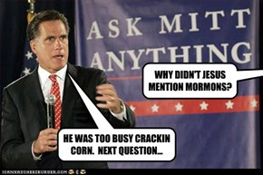 Mitt cracks corn and we don't care...