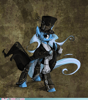 Steampunk Prestidigitation.