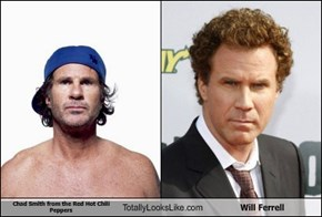 Chad Smith from the Red Hot Chili Peppers Totally Looks Like Will Ferrell