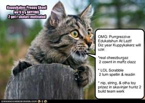 Kuppykakes Preppy Skool Planz 2 Make Lurnin Fun 4 Da Furry