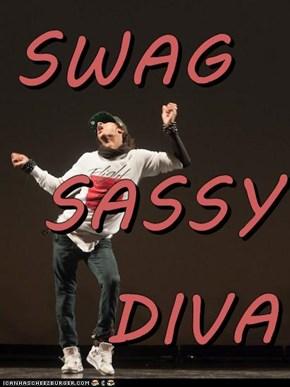SWAG  SASSY DIVA