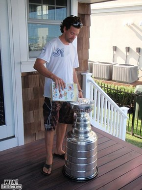 Enjoying Your Stanley Cup WIN