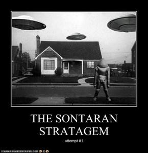 THE SONTARAN STRATAGEM
