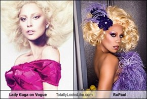 Lady Gaga on Vogue Totally Looks Like RuPaul