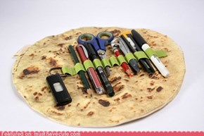 Pita Bread Pencil Roll