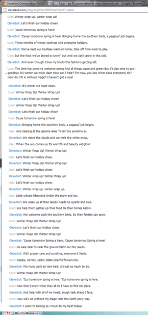 Cleverbot is a brony!?