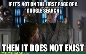 Presumptuous Librarian on Google