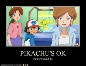 PIKACHU'S OK