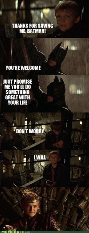 Batman and the Iron Throne