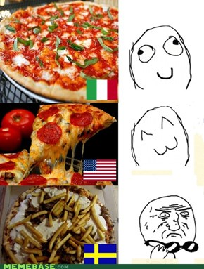 Different pizza in the world