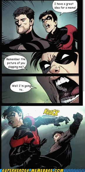 Stop Yelling, Nightwing