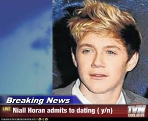 Breaking News - Niall Horan admits to dating ( y/n)