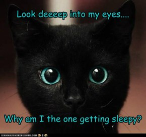 Look deeeep into my eyes....