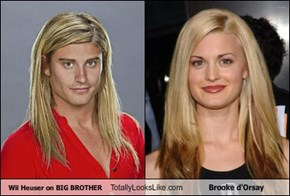 Wil Heuser on BIG BROTHER Totally Looks Like Brooke d'Orsay