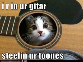 i r in ur gitar  steelin ur toones