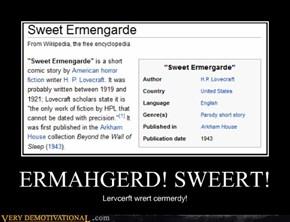ERMAHGERD! SWEERT!
