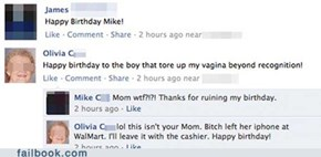 Happy Birthday from Not-Your-Mother!
