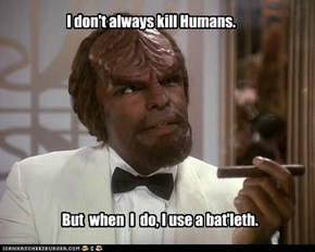 The Most Interesting Man in the Federation.