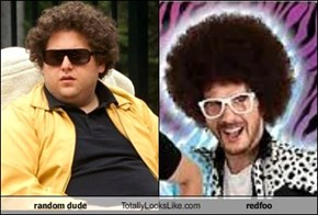 random dude Totally Looks Like redfoo