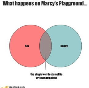 What happens on Marcy's Playground...