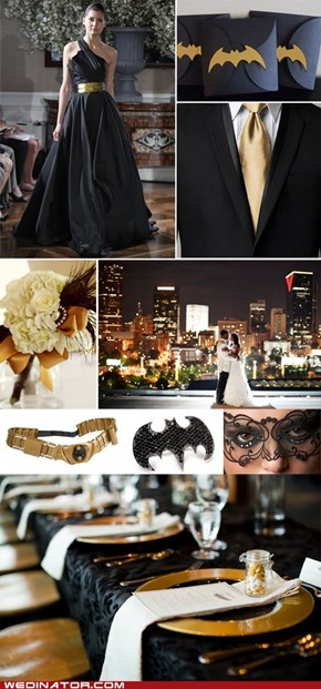 Elegant Batman Wedding