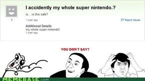 I Accidentally...