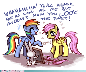 Fluttershy's new hairstyle